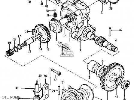 Yamaha Ya6 1966 parts list partsmanual partsfiche