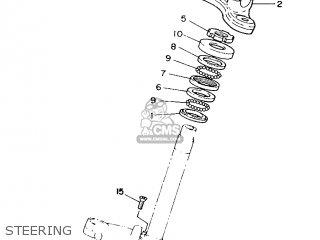 Yamaha YB100 1987 18N ENGLAND 2718N-310E1 parts lists and