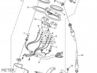 Yamaha YBR125ED 2005 3D91 EUROPE 1D3D9-300E1 parts lists