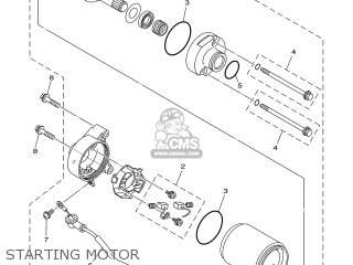 Yamaha Ybr125ed 2005 3d91 Europe 1d3d9-300e1 parts list