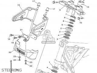 Yamaha Ybr125ed 2005 3d91 France 1d3d9-300e1 parts list