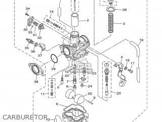 Yamaha YBR125ED 2006 3D94 EUROPE 1E3D9-351F1 parts lists