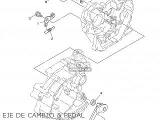 Yamaha YBR125ED 2006 3D94 SPAIN 1E3D9-352S1 parts lists