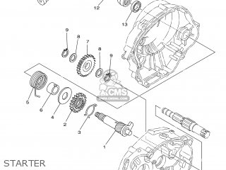 Yamaha YBR125ED 2007 3D92 EUROPE 1F3D9-300E1 parts lists
