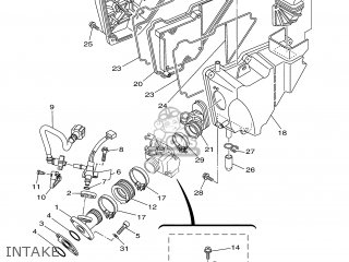 Yamaha YBR125ED 2007 3D92 SPAIN 1F3D9-352S1 parts lists