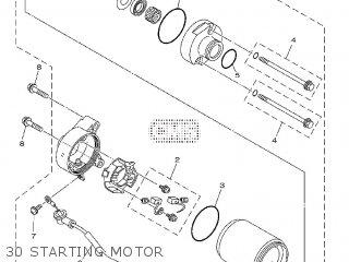 Yamaha YBR125ED 2010 51D1 EUROPE 1J51D-300E1 parts lists