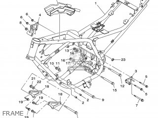 Yamaha YBR250 2007 5D11 TURKEY 1F5D1-300E1 parts lists and