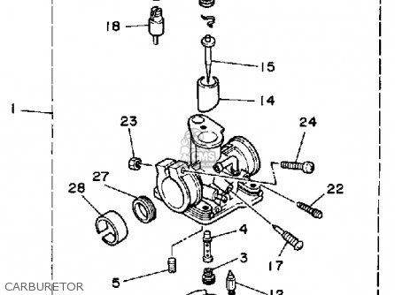 Yamaha Yf60s 1986 Moto-4 Usa parts list partsmanual partsfiche