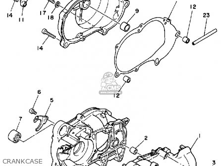 Yamaha YF60S 1986 MOTO-4 USA parts lists and schematics