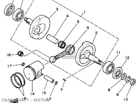 Yamaha YF60S 1986 MOTO-4 USA parts lists and schematics