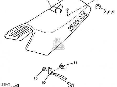 Yamaha Yf60s Moto-4 1986 parts list partsmanual partsfiche