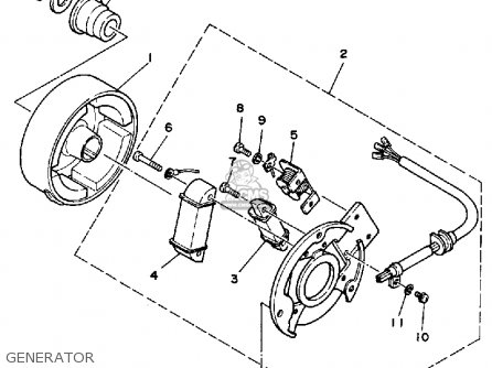 Yamaha Big Bear 400 Parts Diagram Yamaha Scooter Parts