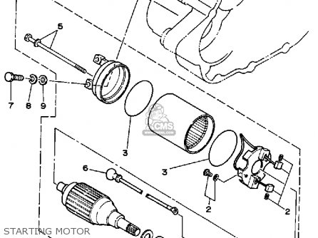 Yamaha Yfa1b Breeze Moto-4 1991 parts list partsmanual