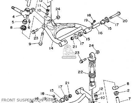 Yamaha YFA1D BREEZE 1992 parts lists and schematics