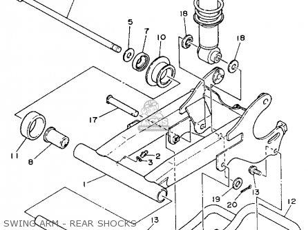 Yamaha YFA1E BREEZE MOTO-4 1993 parts lists and schematics