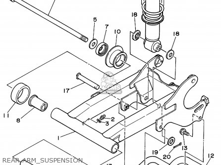 Yamaha Yfa1l 1999 Usa parts list partsmanual partsfiche
