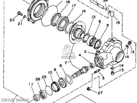 1992 Wildcat 700 Wiring Diagram