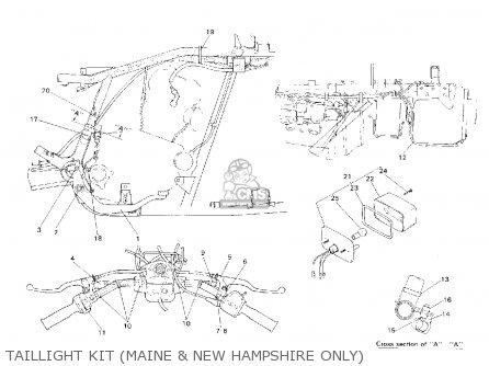 Yamaha Yfb250d Timberwolf Maine And New Hampshire 1992