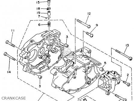 Yamaha YFB250E TIMBERWOLF MAINE & NEW HAMPSHIRE 1993 parts