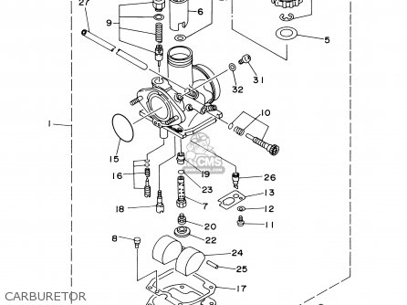 Yamaha YFB250FWM 2000 USA parts lists and schematics