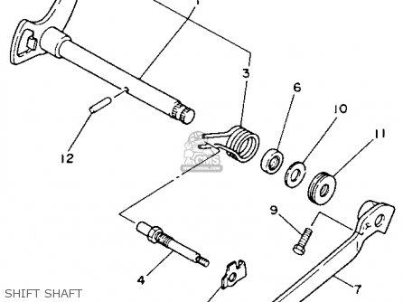 Yamaha YFM100U 1988 CHAMP parts lists and schematics