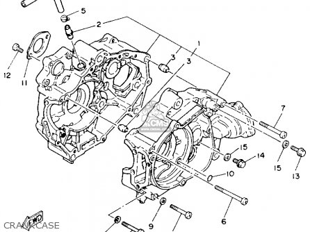 Yamaha Yfm100w 1989 All Countries parts list partsmanual