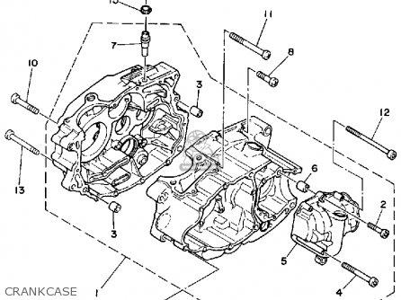 Yamaha YFM200DXW 1989 parts lists and schematics
