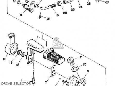 Yamaha Yfm200dxw 1989 parts list partsmanual partsfiche