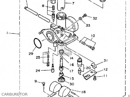 Yamaha YFM200N 1985 MOTO-4 parts lists and schematics