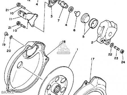 Yamaha YFM225T 1987 parts lists and schematics