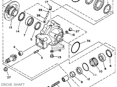 Yamaha YFM225T 1987 parts lists and schematics