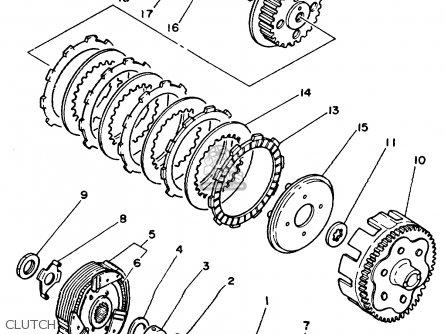 Oem Yamaha Tw200eu Euc Wiring Diagram