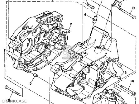 Yamaha YFM250A 1990 parts lists and schematics