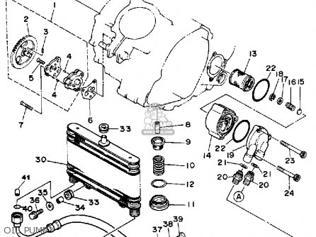 Yamaha YFM350ERT 1987 parts lists and schematics