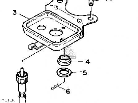 Yamaha YFM350FWA BIG BEAR 1990 parts lists and schematics