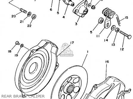 Yamaha Yfm350fwb 1991 3hn6 Big Bear parts list partsmanual