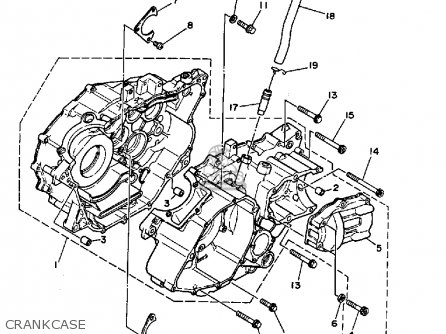 Yamaha YFM350FWB 1991 BIG BEAR MAINE NEW HAMPSHIRE parts