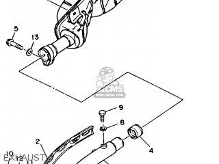 Yamaha YFM350FWD BIG BEAR 1992 parts lists and schematics
