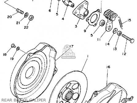 Yamaha YFM350FWT 1987 2HR BIG BEAR parts lists and schematics