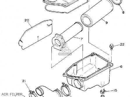 Yamaha YFM350XD WARRIOR 1992 USA parts lists and schematics