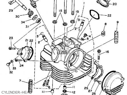 Yamaha Warrior Engine Diagram / Yamaha Big Bear Battery