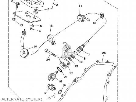 Yamaha Yfm35fxn/nc 2001 Usa parts list partsmanual partsfiche