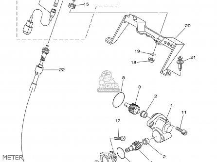 Yamaha Yfm400far 2003 Usa Except California parts list