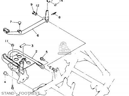 Yamaha YFM400FWE KODIAK 1993 parts lists and schematics
