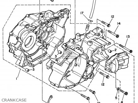 Yamaha YFM400FWG 1995 parts lists and schematics