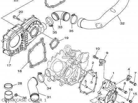 Yamaha YFM660FHP 2002 USA EXCEPT CALIFORNIA parts lists