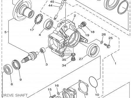 Yamaha Yfm660fp 2002 Usa Except California parts list