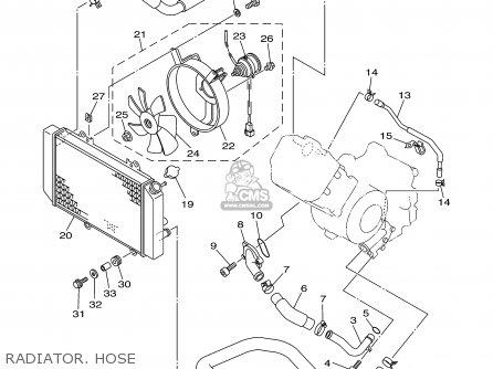 Yamaha YFM660FR-C 2003 USA EXCEPT CALIFORNIA parts lists