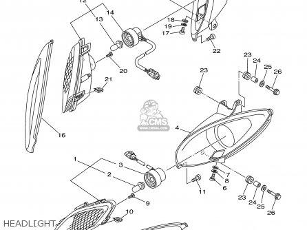 Yamaha Yfm660rpb 2002 Usa 50 States parts list partsmanual