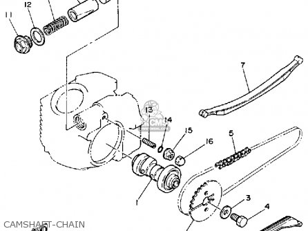 Yamaha YFM80D 1992 parts lists and schematics